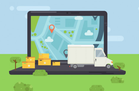 Online delivery tracking software