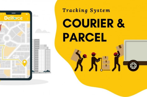 courier delivery tracking system