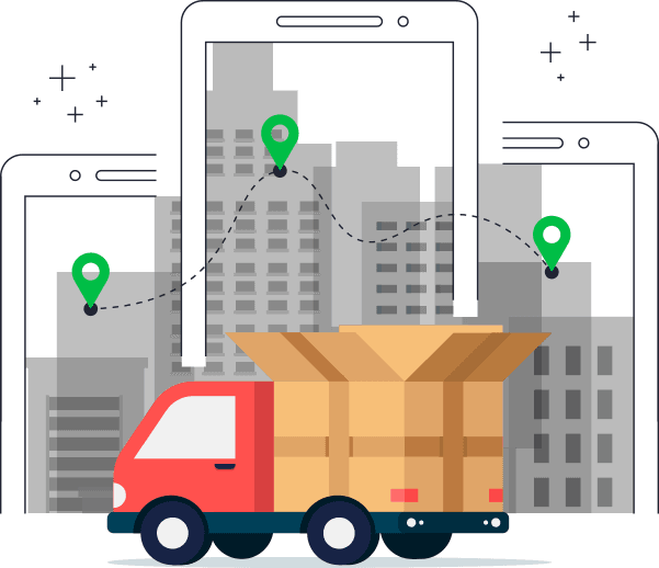 E-commerce delivery tracking management software