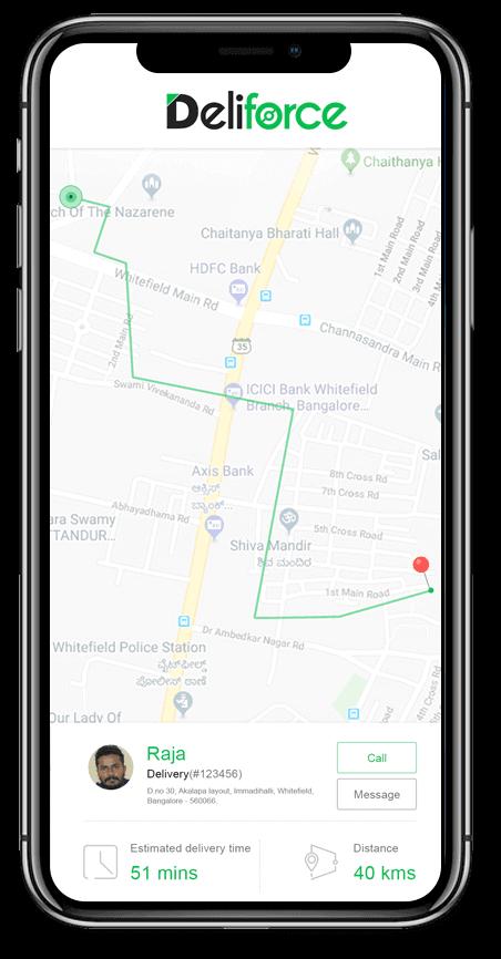 Deliforce - Last Mile Delivery Tracking Software