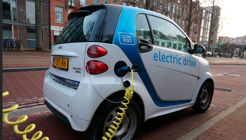 electric vehicle for delivery