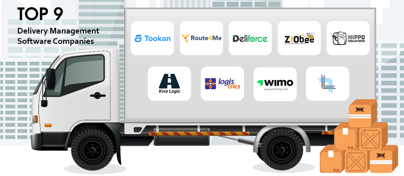 Delivery management tracking system | Develop your delivery management software with real-time tracking & updates. Create multiple deliveries through the most optimized routes to reduce delivery cost and time